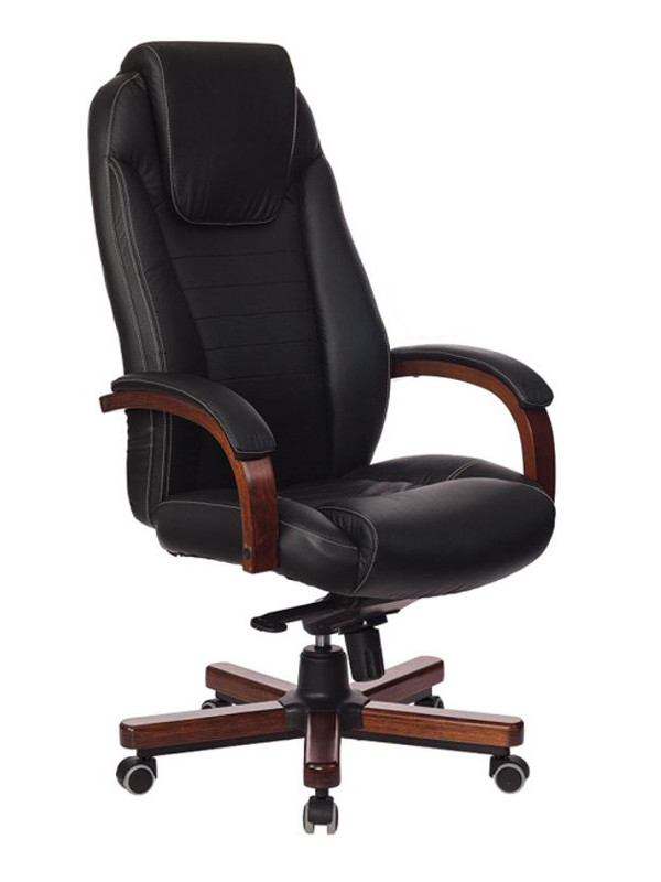 Компьютерное кресло Бюрократ T-9923 Walnut Black