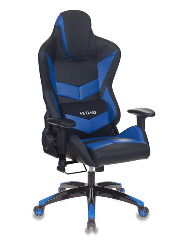 Компьютерное кресло Бюрократ CH-773N Black-Blue /BL+BLUE цена