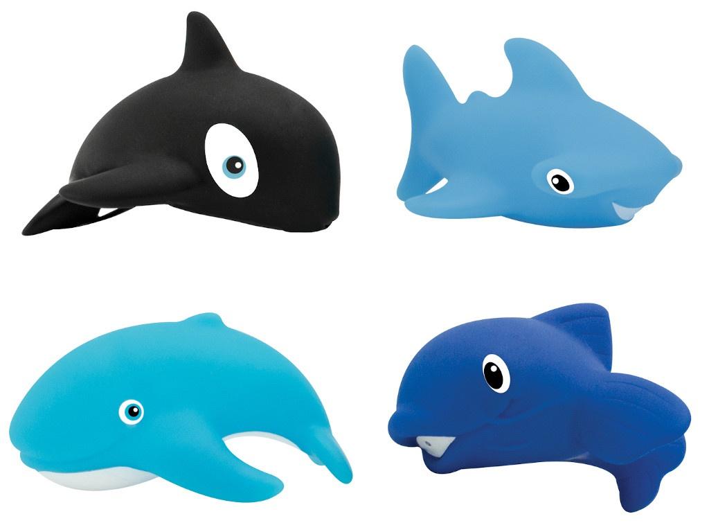 Набор игрушек Lubby Морской мир от 12 мес. 4шт 15648 lubby круг на шею для купания