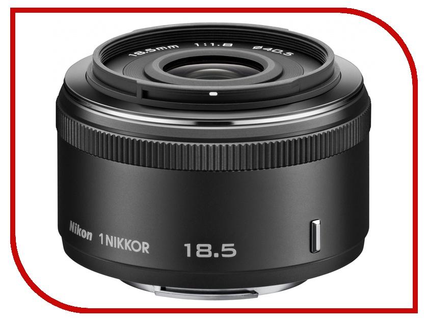 Объектив Nikon Nikkor 18.5 mm F/1.8 for Nikon 1 Black<br>