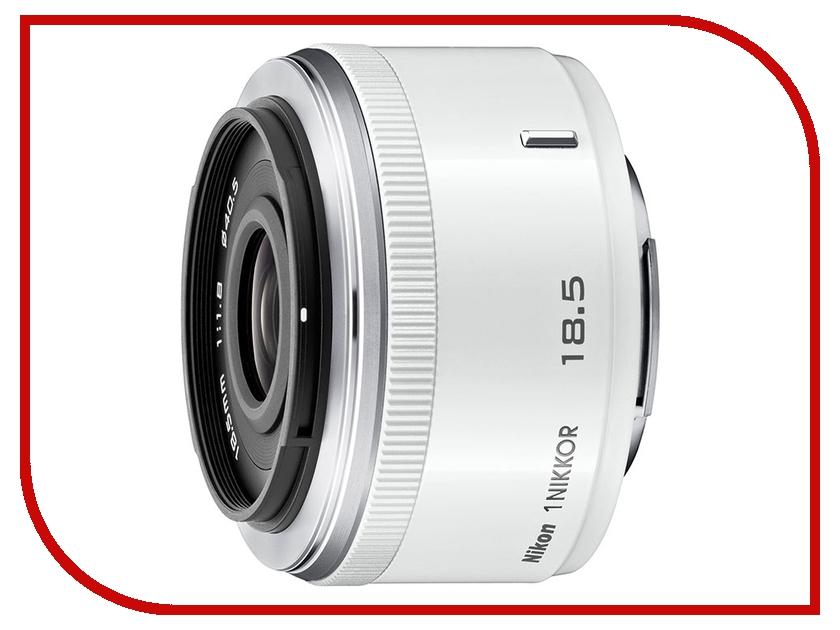 Объектив Nikon Nikkor 18.5 mm F/1.8 for Nikon 1 White<br>