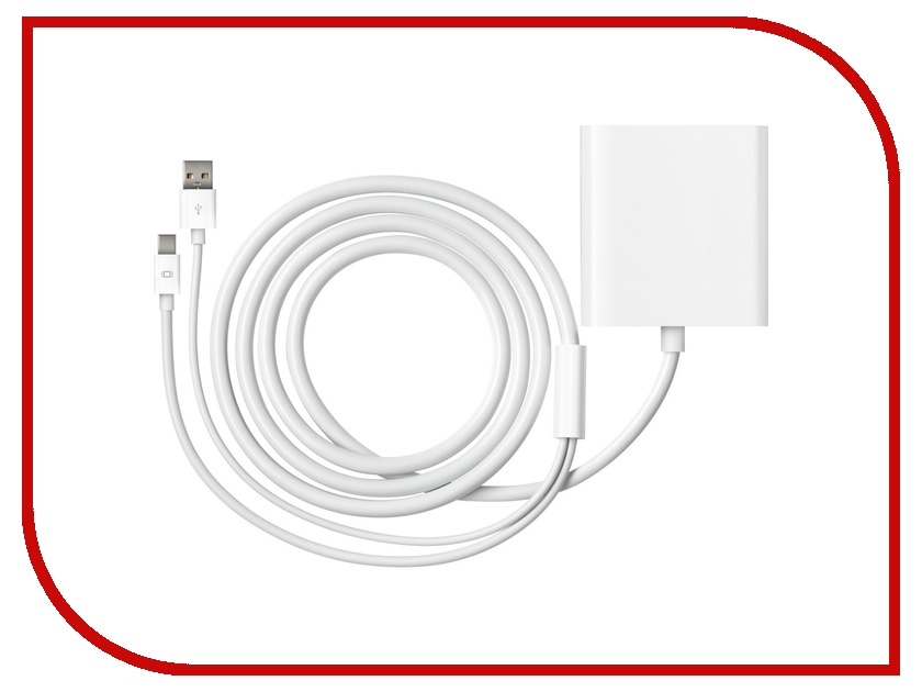 Аксессуар APPLE Mini DisplayPort / DVI Dual Link MB571Z/A mini displayport dp to hdmi adapter cable mini display port converter thunderbolt for apple mac macbook pro air