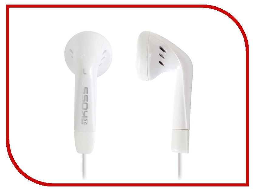 Koss KE5 White koss bt539iw white