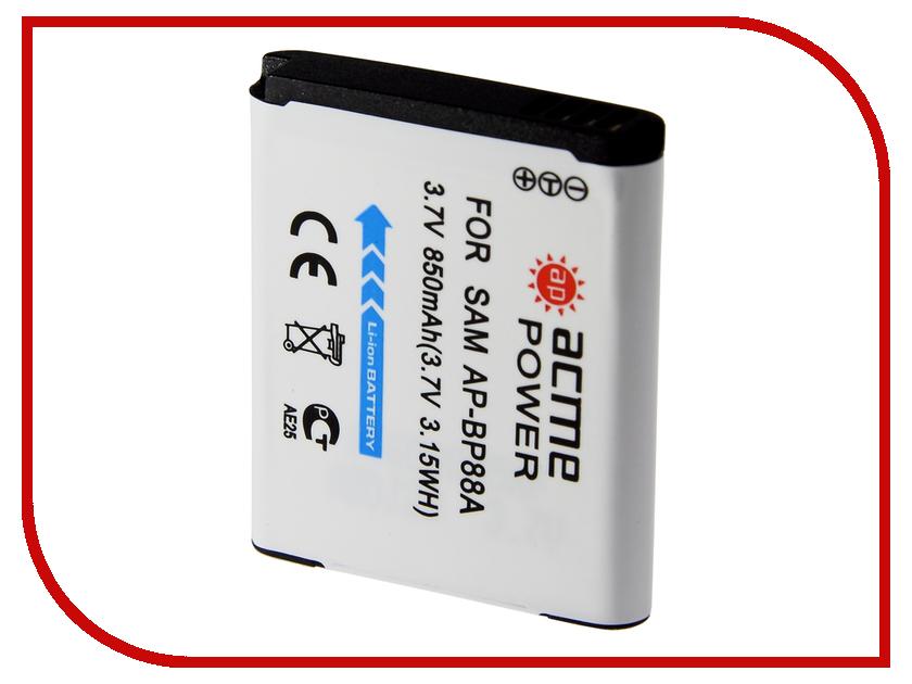 Аккумулятор AcmePower AP BP-88A аккумулятор acmepower ap np fv100