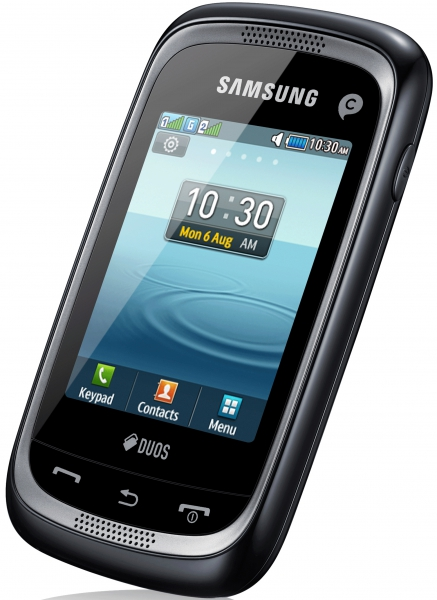 Сотовый телефон Samsung GT-C3262 Champ Neo Duos Black