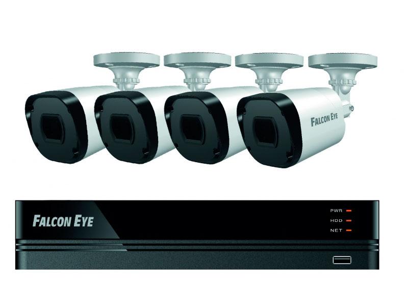 Комплект видеонаблюдения Falcon Eye FE-2104MHD Smart видеодомофон falcon eye fe 4chp2 avp 505 ассорти