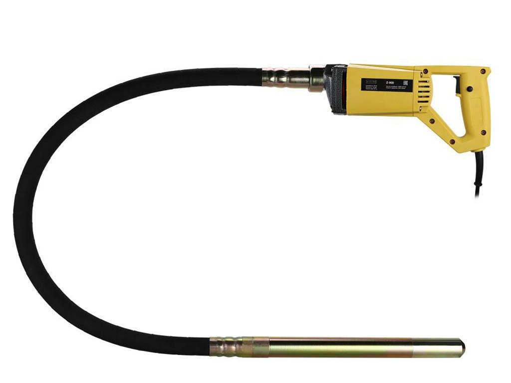 Строительный вибратор Zitrek Z-900 вал 1.5m со встроенной булавой ф-35mm 045-0049-4
