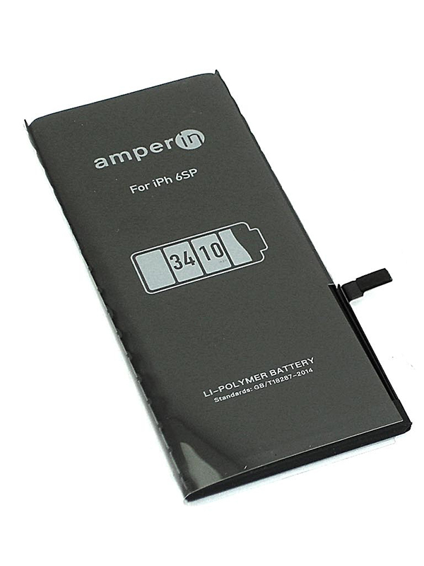 Аккумулятор Amperin для Apple iPhone 6S Plus 3.8V 3410mAh 74518