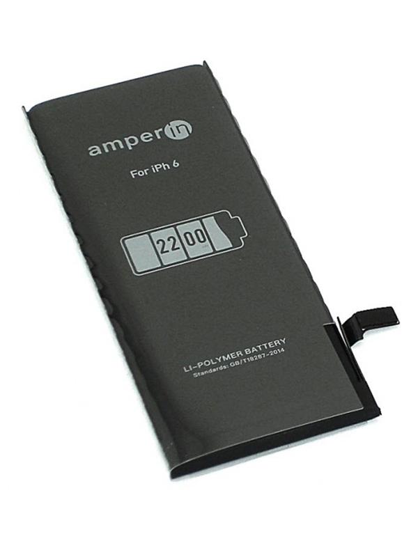 Аккумулятор Amperin для Apple iPhone 6 3.82V 2200mAh 74515