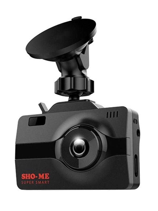 Видеорегистратор SHO-ME COMBO Super Smart, GPS, ГЛОНАСС