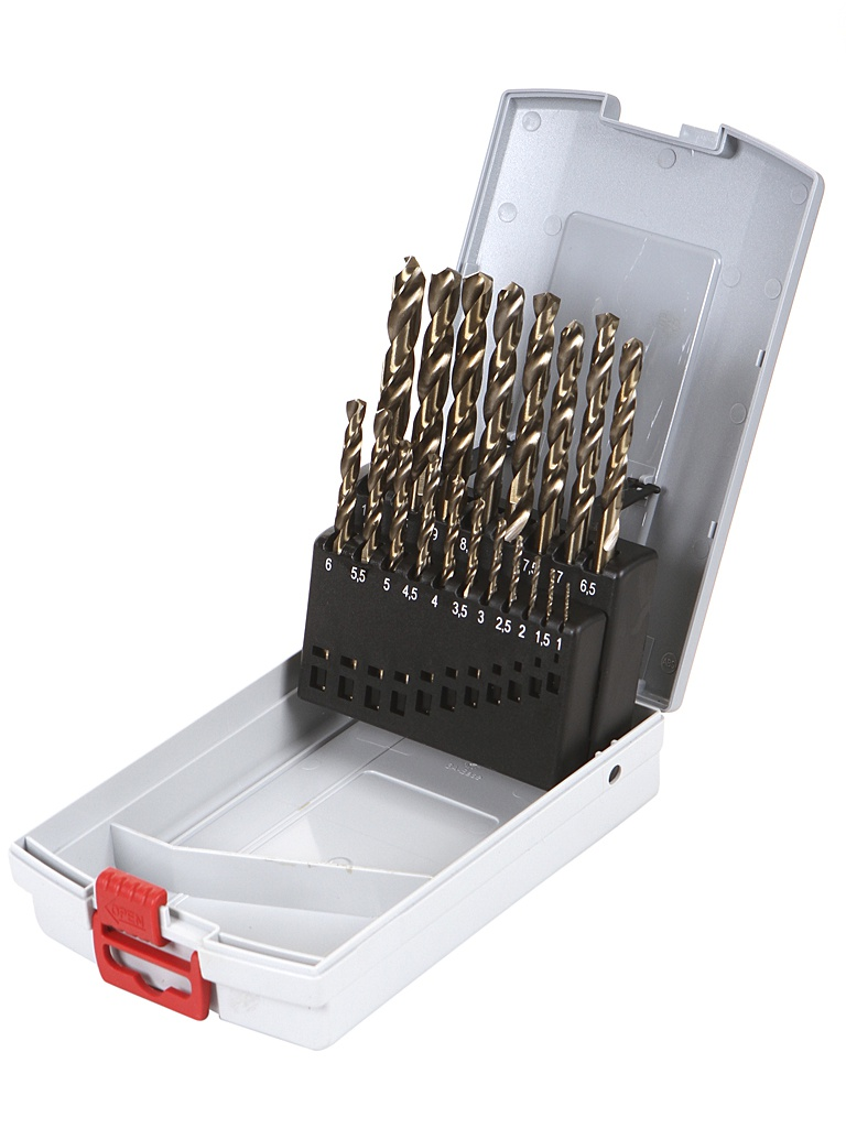 Набор сверл Bosch по металлу 1-10mm 19шт 2608587014 роза тибетское благовоние безосновное 19шт 0 05 кг