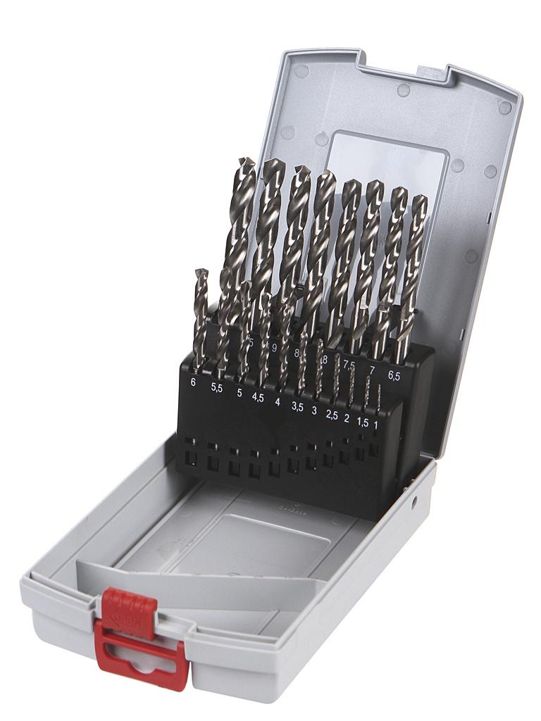 Набор сверл Bosch по металлу 1-10mm 19шт 2608587013