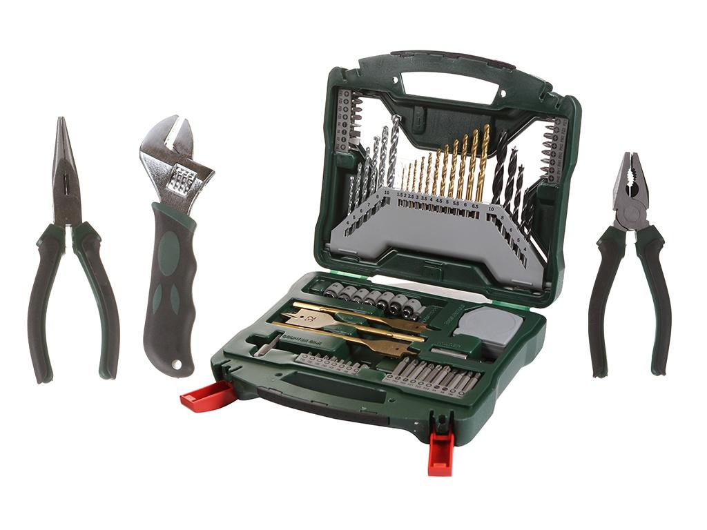 Набор инструмента Bosch X-Line 2607017197 сумка для инструмента bosch 1618dz3gb5