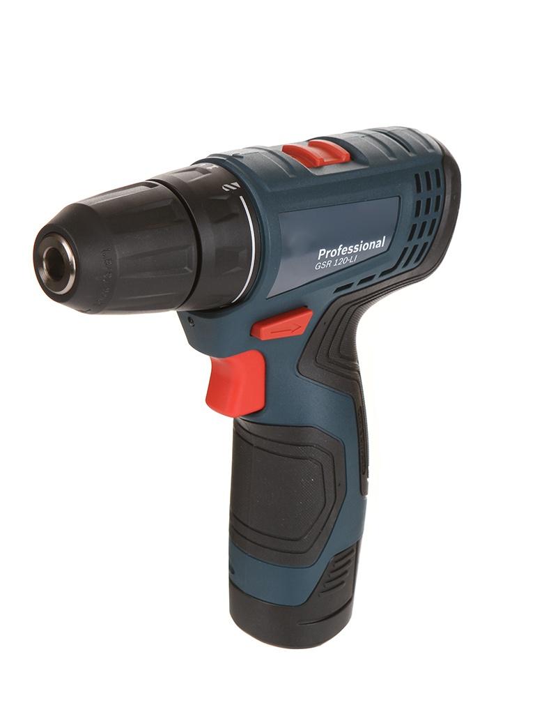 Электроинструмент Bosch GSR 120-LI 2x2.0Ah 06019G8020