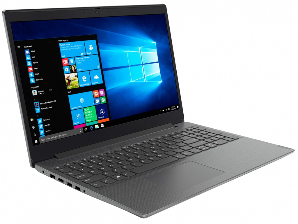 Ноутбук Lenovo V155-15API Iron Grey 81V5000CRU (AMD Ryzen 5 3500U 2.1 GHz/8192Mb/256Gb SSD/DVD-RW/AMD Radeon Vega 8/Wi-Fi/Bluetooth/Cam/15.6/1920x1080/Windows 10 Pro 64-bit)