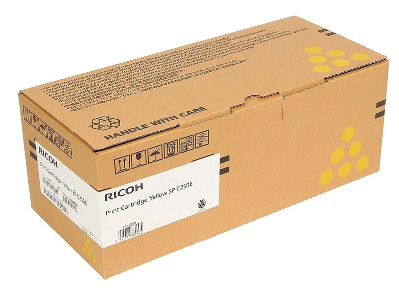Картридж Ricoh SP C250E Yellow 407546 для SP C250DN/C250SF/C260DNw/C261DNw/C260SFNw/C261SFNw