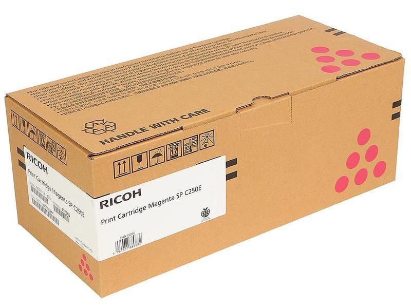 Картридж Ricoh SP C250E Magenta 407545 для C250DN/C250SF/C260DNw/C261DNw/C260SFNw/C261SFNw