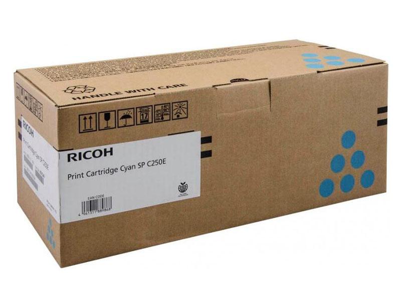 Картридж Ricoh SP C250E Cyan 407544 для C250DN/C250SF/C260DNw/C261DNw/C260SFNw/C261SFNw