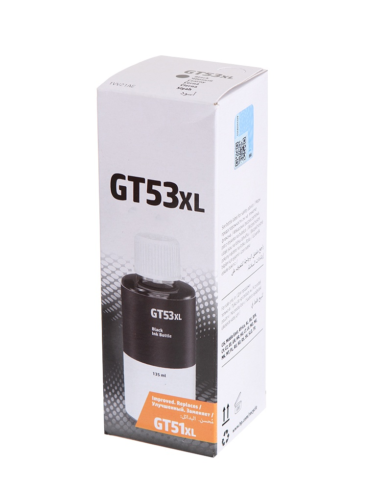 Чернила HP GT53XL Black 1VV21AE для Ink Tank 315/Ink 319/Ink 115