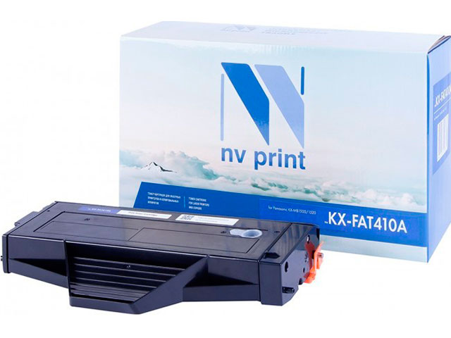 Картридж NV Print KX-FAT410A для Panasonic KX-MB1500/MB1520/MB1530/MB1536 2500k