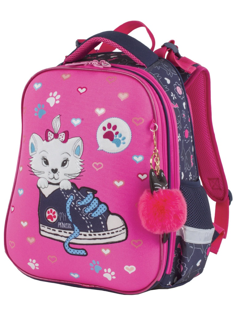 Рюкзак Brauberg Premium Kitten & Sneakers 380x290x160mm 228784