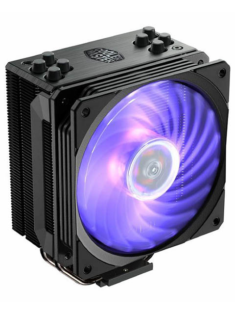 Кулер Cooler Master Hyper 212 RGB Black Edition RR-212S-20PC-R1 (IntelLGA1150/1151/1155/1156/LGA2066/LGA1356/1366/LGA2011/2011-3/ AMD AM2/AM2+/AM3/AM3+/FM1/AM4/FM2/FM2+)
