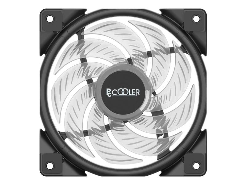 Вентилятор PCcooler Halo RGB Kit 120mm