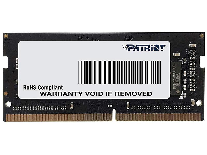 Модуль памяти Patriot Memory DDR4 SO-DIMM 2133MHz PC-17000 CL15 - 16Gb PSD416G21332S
