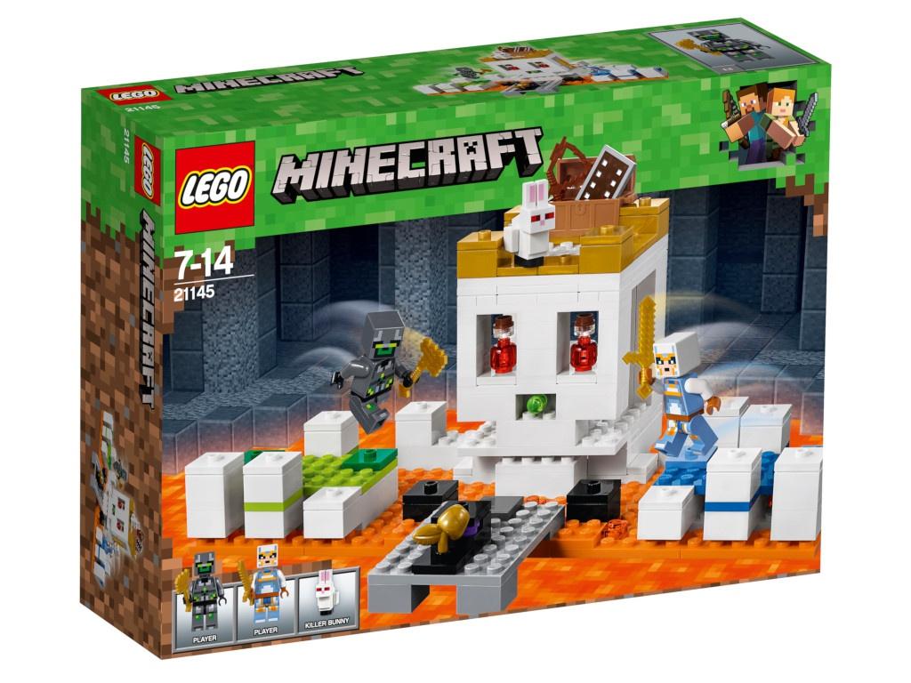 Конструктор Lego Minecraft Арена-череп 198 дет. 21145