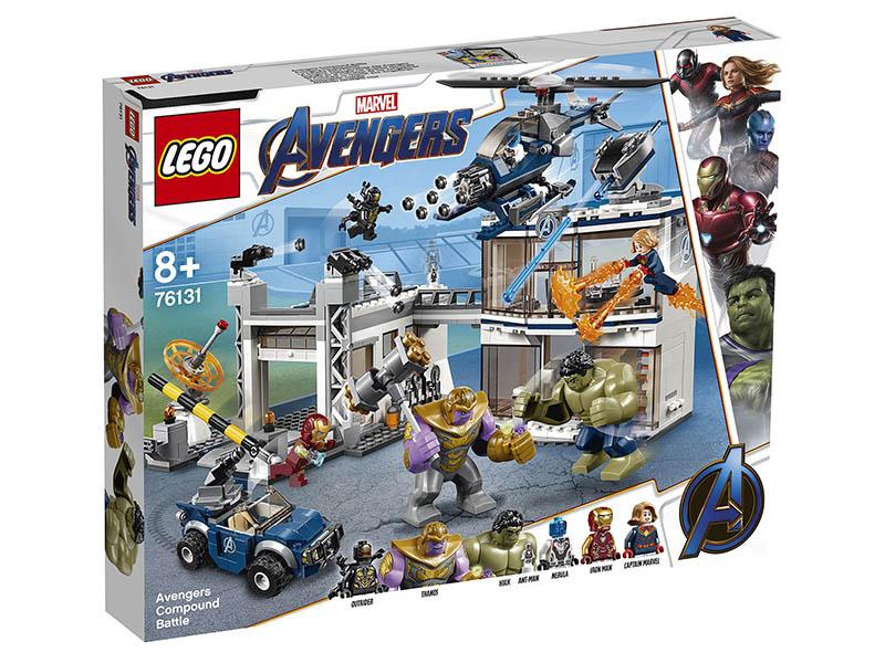 Конструктор Lego Marvel Super Heroes Битва на базе Мстителей 699 дет. 76131 цена и фото
