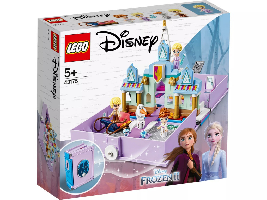 Конструктор Lego Disney Princess Книга сказочных приключений Анны и Эльзы 133 дет. 43175