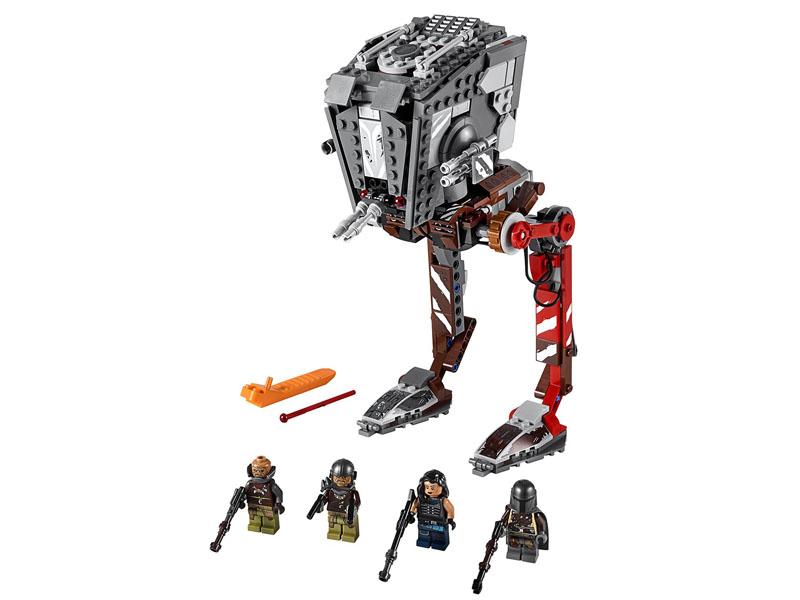 Конструктор Lego Star Wars Episode IX Диверсионный AT-ST 540 дет. 75254