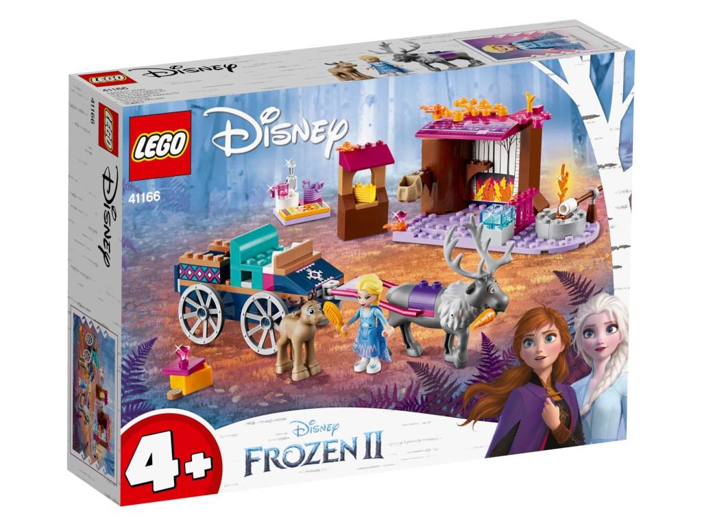 Конструктор Lego Disney Princess Дорожные приключения Эльзы 116 дет. 41166