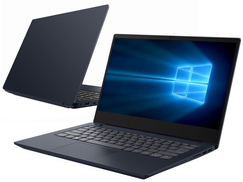 Ноутбук Lenovo IdeaPad S340-14IWL Abyss Blue 81N700JJRU (Intel Core i3-8145U 2.1 GHz/4096Mb/128Gb SSD/Intel HD Graphics/Wi-Fi/Bluetooth/Cam/14.0/1920x1080/Windows 10 Home 64-bit)