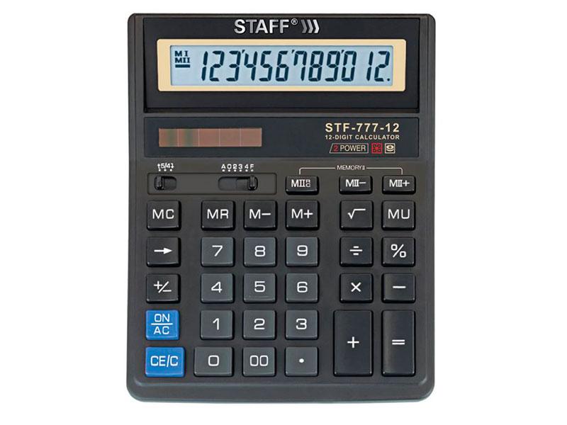 Калькулятор Staff STF-777