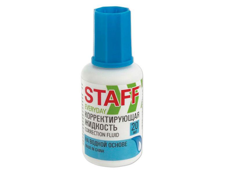 Корректирующая жидкость Staff Everyday 20ml 228642
