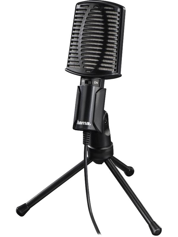 Фото - Микрофон Hama 00139906 микрофон проводной hama allround 00139906 2м black