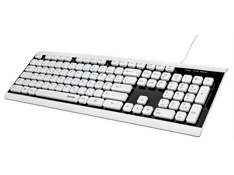 Клавиатура Hama Covo USB Slim 1047162