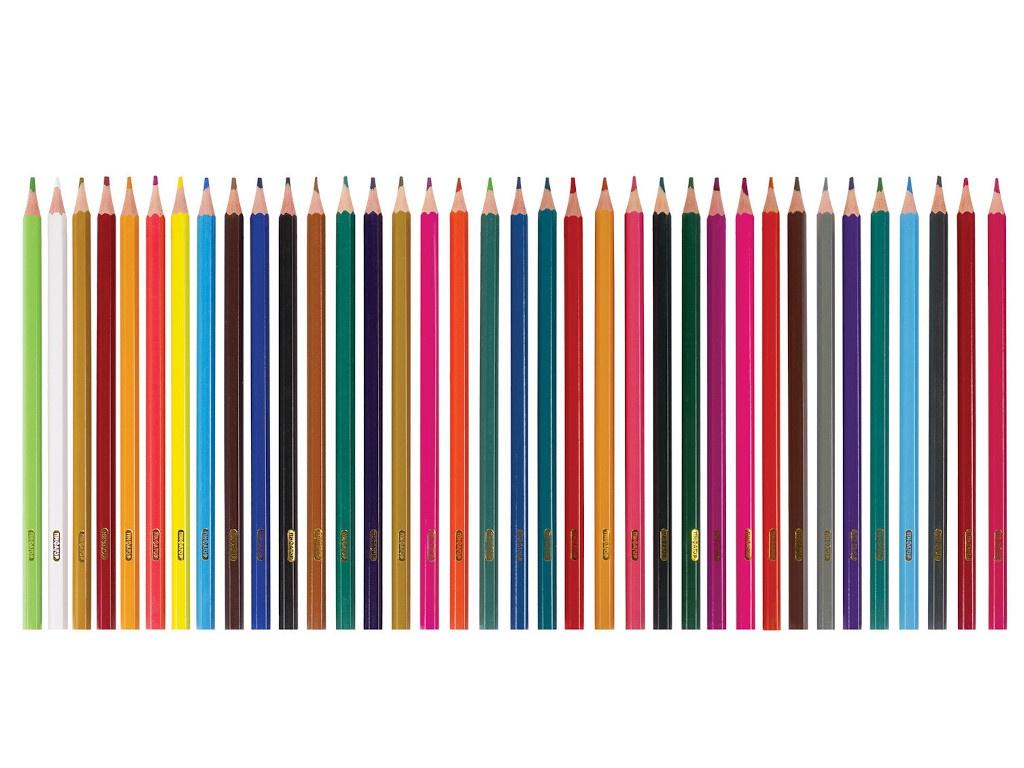 Карандаши цветные Пифагор Жираф 36 цветов 181332