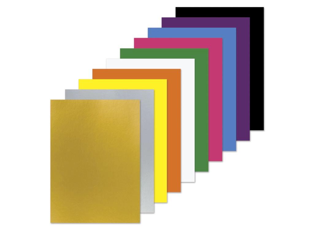 Цветной картон Пифагор A4 10 листов цветов 129913