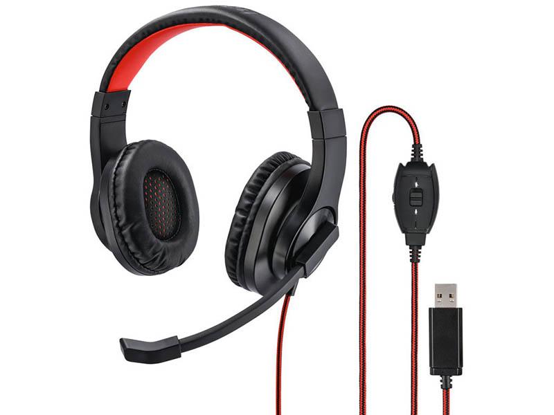 Наушники Hama HS-USB400 00139927