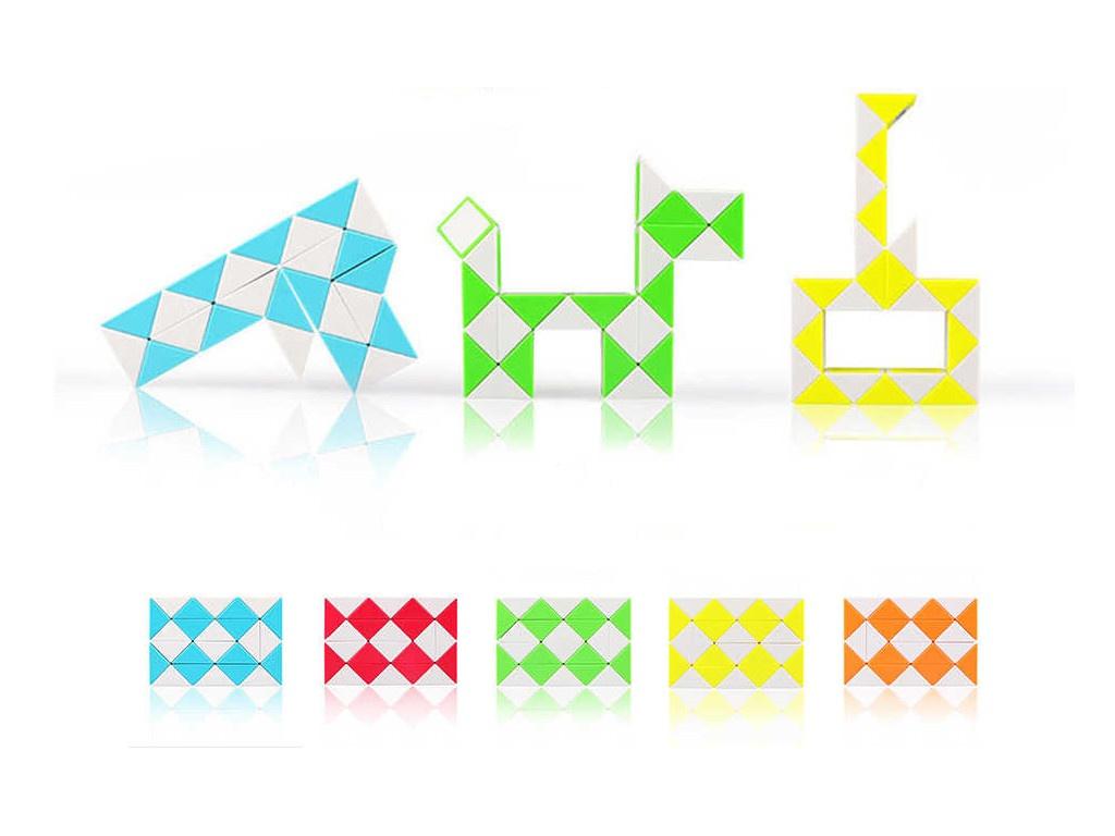 Головоломка Qiyi Toys Змейка Рубика EQY560