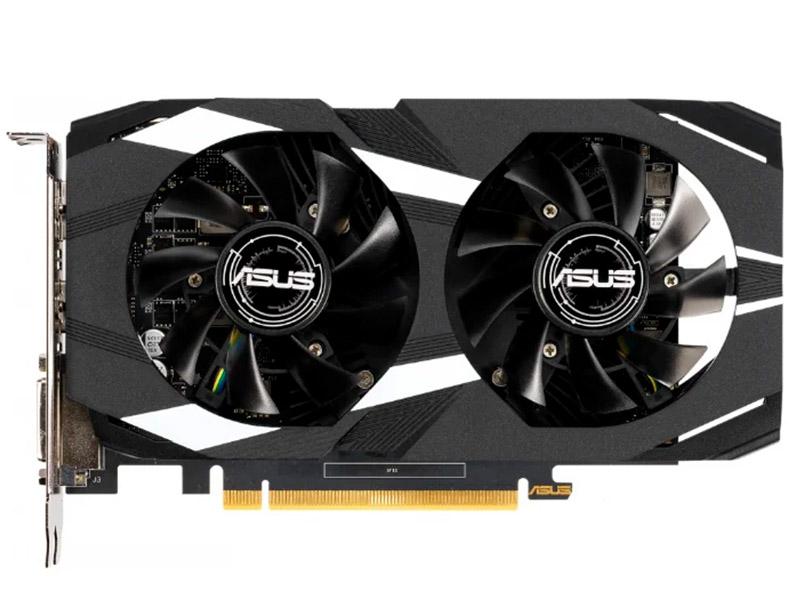 Видеокарта ASUS GeForce GTX 1650 OC 1515Mhz PCI-E 3.0 4096Mb 8002Mhz 128 bit DVI DP HDMI GTX1650-O4G-LP-BRK