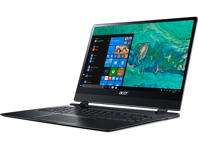 Ноутбук Acer Swift 7 Pro SF714-51T-M427 Black NX.GUJER.001 (Intel Core i7-7Y75 1.3 GHz/8192Mb/256Gb SSD/Intel HD Graphics/Wi-Fi/Bluetooth/Cam/14.0/1920x1080/Touchscreen/Windows 10 64-bit)