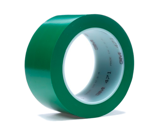 Клейкая лента 3M 471 50mm x 33m Green 4000009165