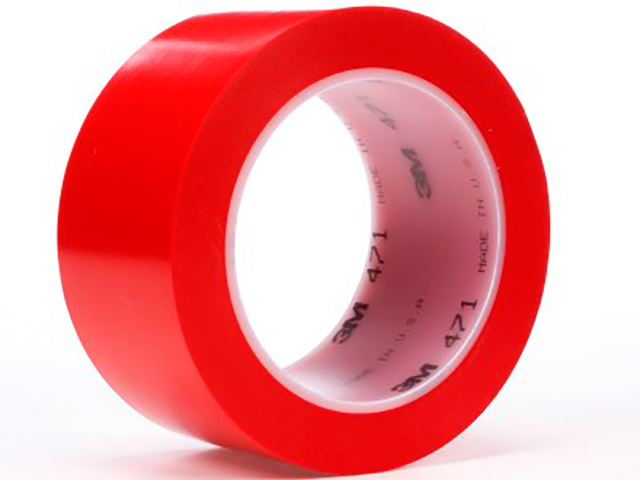 Клейкая лента 3M 471 50mm x 33m Red 4000009158
