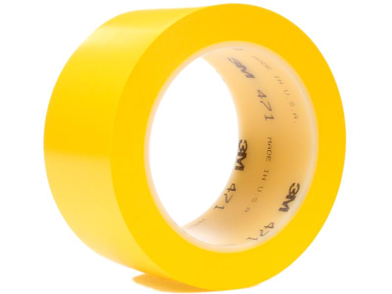 Клейкая лента 3M 471 50mm x 33m Yellow 4000009160