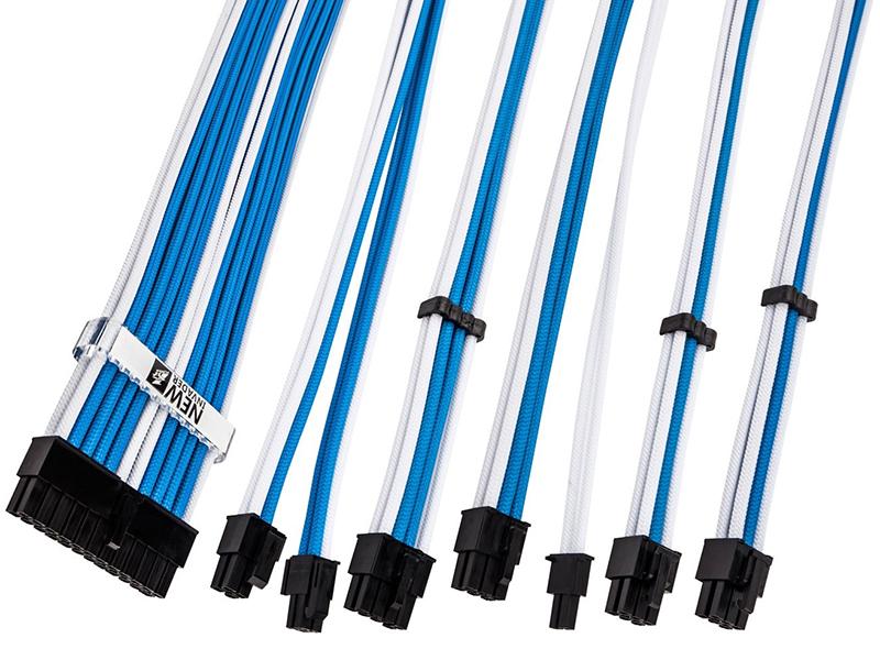Аксессуар Комплект кабелей-удлинителей для БП 1stPlayer 1x24-pin ATX 350mm SKY-001