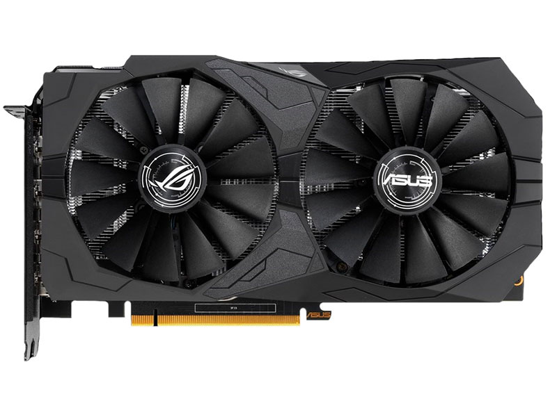 Видеокарта ASUS ROG Strix GeForce GTX 1650 OC Edition 1485Mhz PCI-E 3.0 4096Mb 8002Mhz 128 bit 2xDP 2xHDMI ROG-STRIX-GTX1650-O4G-GAMING цена 2017