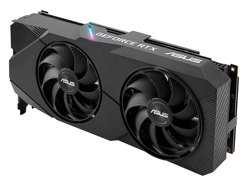 Видеокарта ASUS Dual GeForce RTX 2060 SUPER EVO V2 OC Edition 1470Mhz PCI-E 3.0 8192Mb 14000Mhz 256 bit HDCP DVI DP HDMI DUAL-RTX2060S-O8G-EVO-V2 asus dual rtx2070s o8g evo